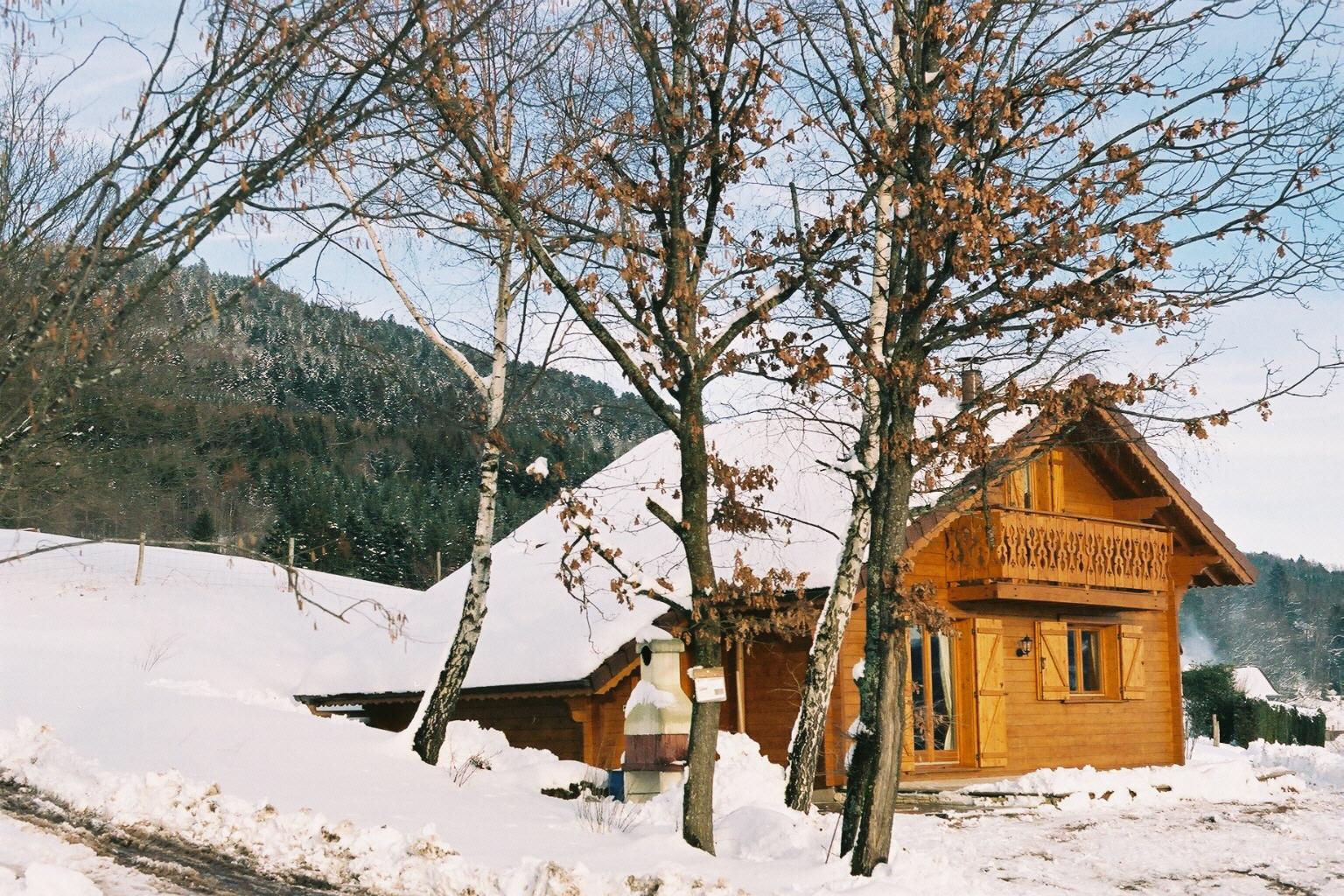 Location d'un chalet dans les Vosges